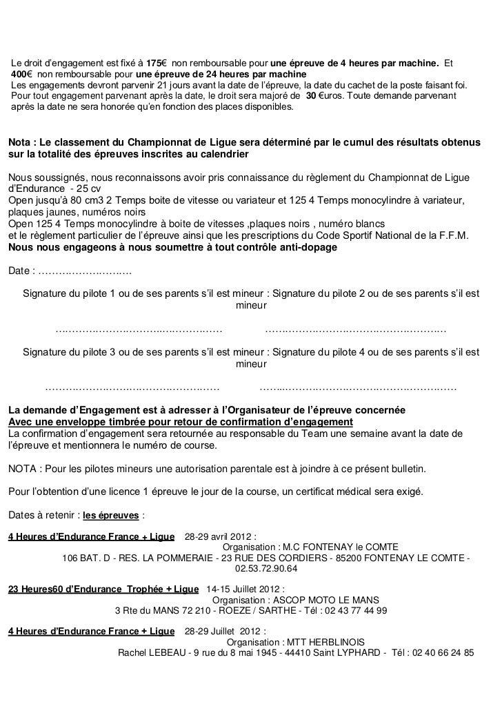 2012 bulletin d u0026 39 engagement