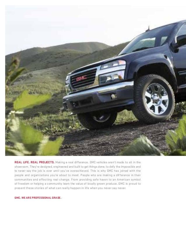 2012 GMC Canyon Brochure Rochester-Bob Hastings Buick GMC Slide 2