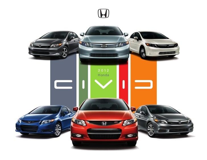 2012 Honda Civic Online Brochure