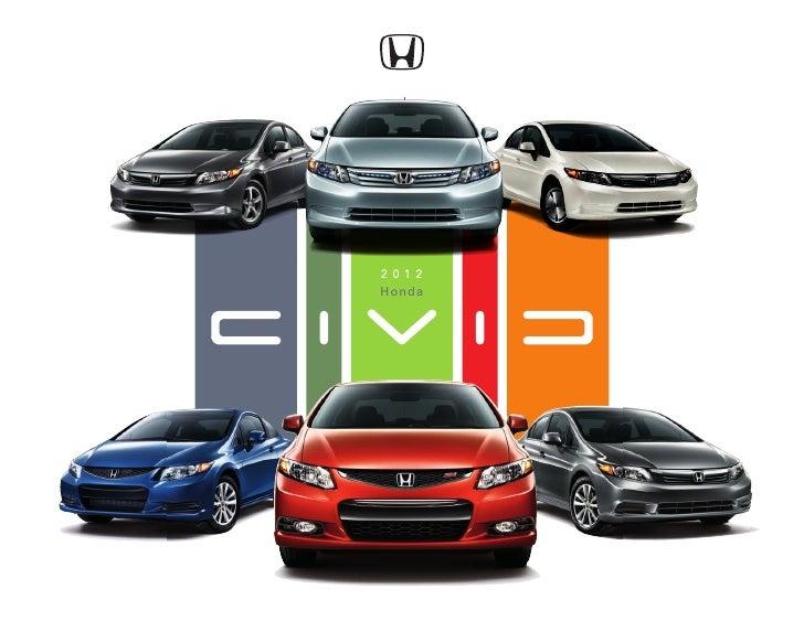 2012 Honda Civic Brochure by Neil Huffman Honda Louisville ...