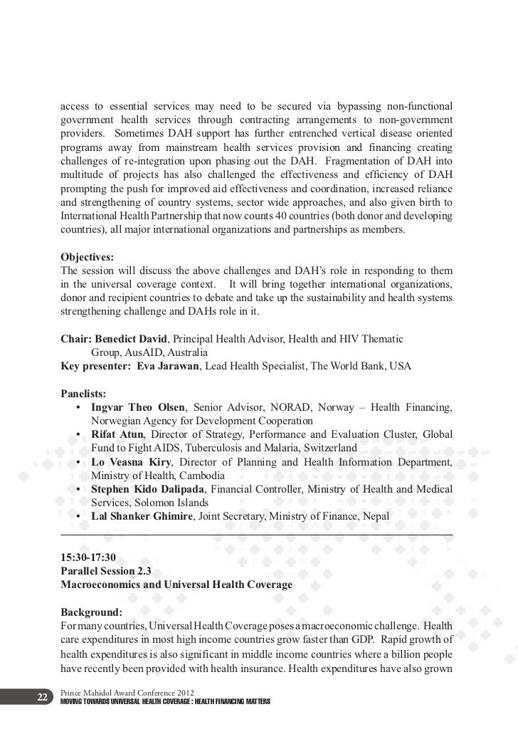 15:30-17:30     Parallel Session 2.4     Governance structure and institutional capacities in advancing UHC     Background...