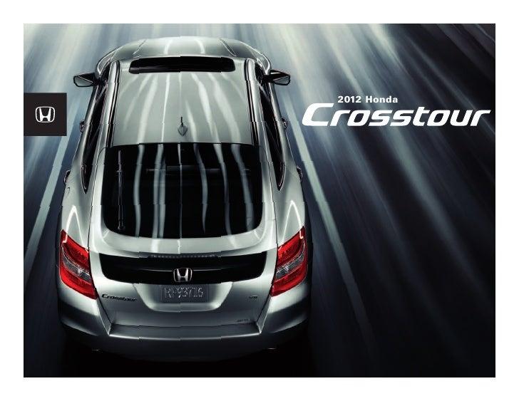 Dch Honda Temecula >> 2012 Honda Crosstour Brochure Dch Honda Of Temecula