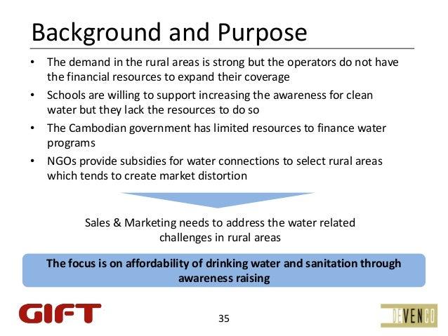 BackgroundandPurpose• Thedemandintheruralareasisstrongbuttheoperatorsdonothave  thefinancialresourcesto...