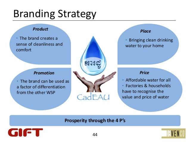 BrandingStrategy        Product                                                Place• Thebrandcreatesa               ...