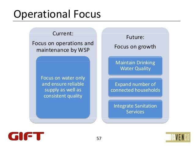 OperationalFocus           Current:                                         Future:   Focuson operations and           ...