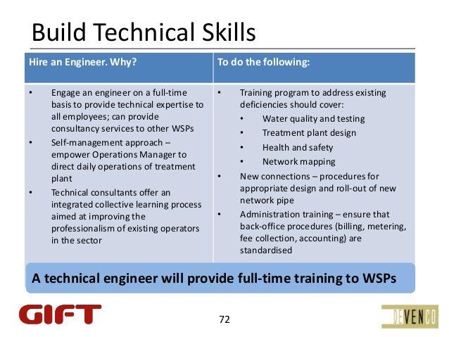 BuildTechnicalSkillsHireanEngineer.Why?                            Todothefollowing:    ]•       Engageanengine...
