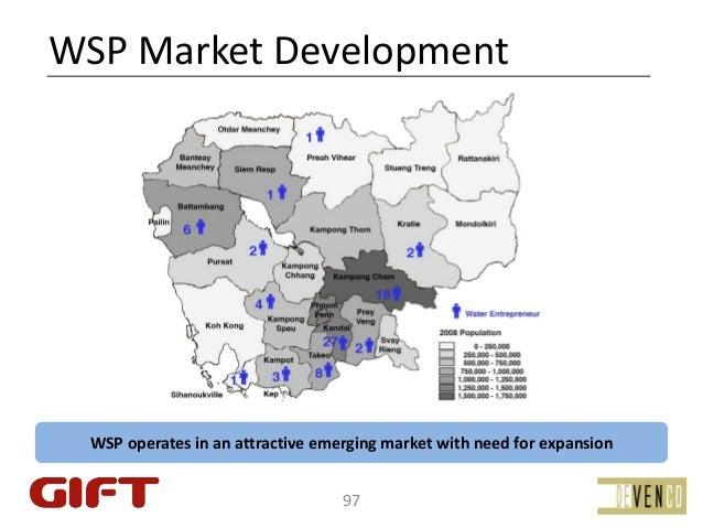 WSPMarketDevelopment  WSPoperatesinanattractiveemergingmarketwithneedforexpansion                            ...