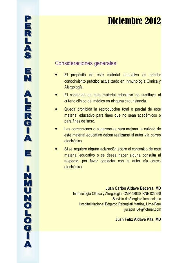 Diciembre 2012Consideraciones generales:• El propósito de este material educativo es brindarconocimiento práctico actualiz...