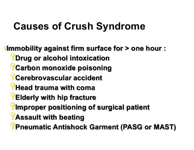crush syndrome How to cite guner, s i and oncu, m r (2014), evaluation of crush syndrome patients with extremity injuries in the 2011 van earthquake in turkey.