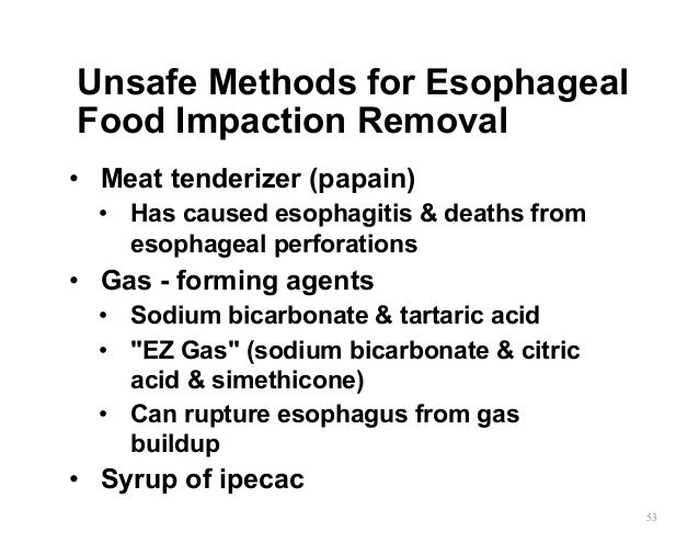 Gemc Aspirated And Ingested Foreign Bodies Resident Training