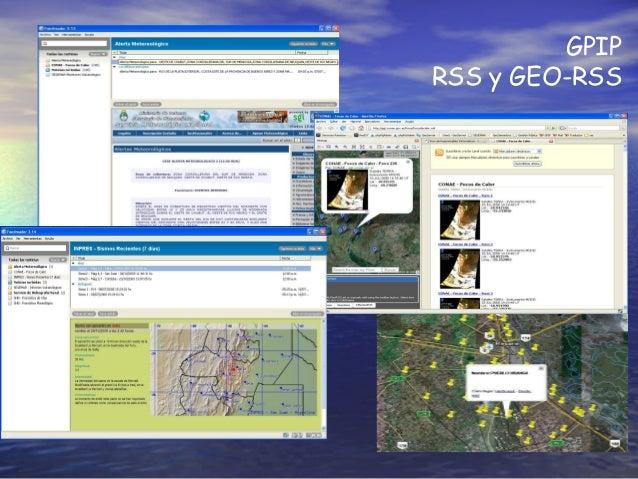 GPIP RSS y GEO-RSS