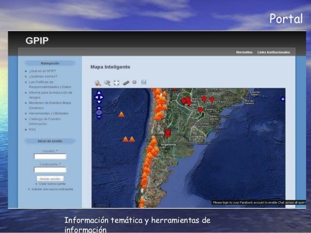 Portal Información temática y herramientas de información