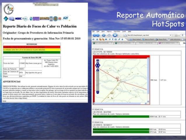 Reporte Automático HotSpots