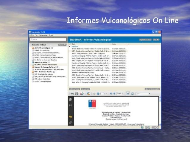 Informes Vulcanológicos On Line