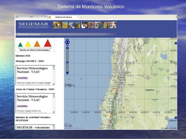 Sistema de Monitoreo Volcánico