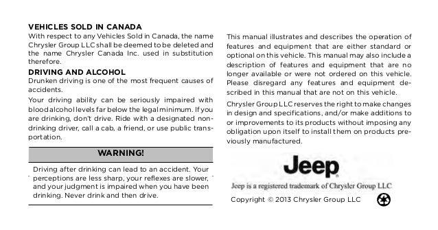 manual jeep grand cherokee limited 2012