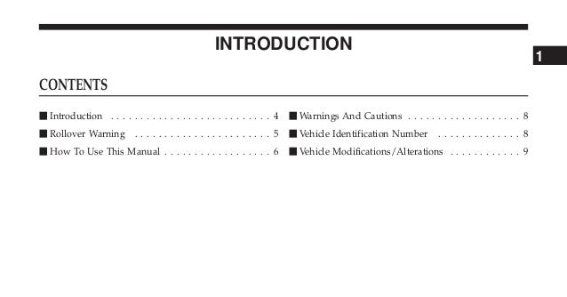 CHEROKEE OWNERS MANUAL PDF