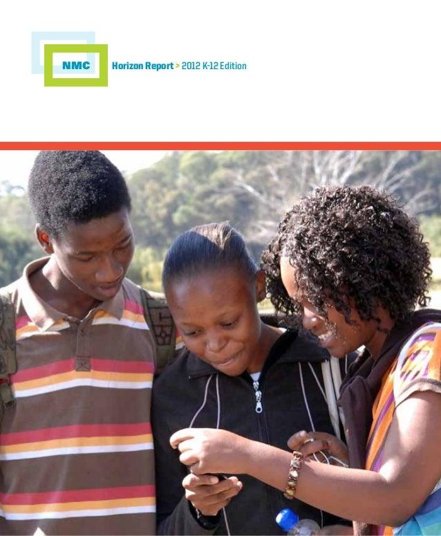 Horizon Report > 2012 K-12 EditionNMC