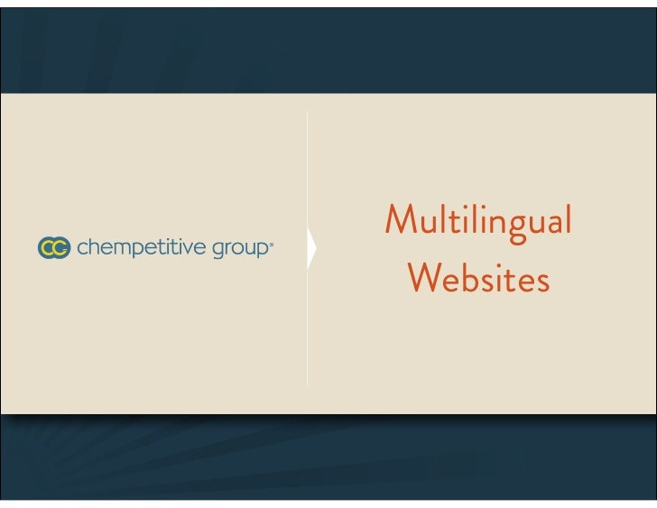 Multilingual Websites