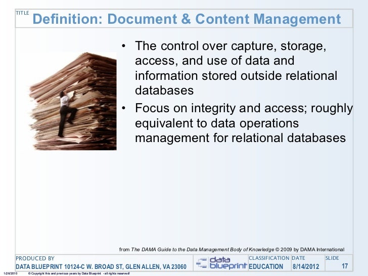 Data ed online your documents and other content managing unstructur 41 title definition document content management the malvernweather Image collections