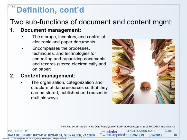 Data ed online your documents and other content managing unstructur 47 malvernweather Gallery