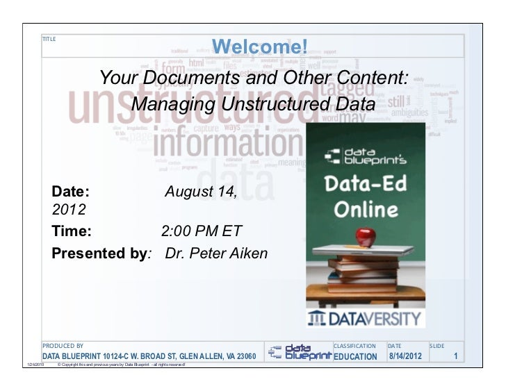 Welcome!       TITLE                                      Your Documents and Other Content:                               ...