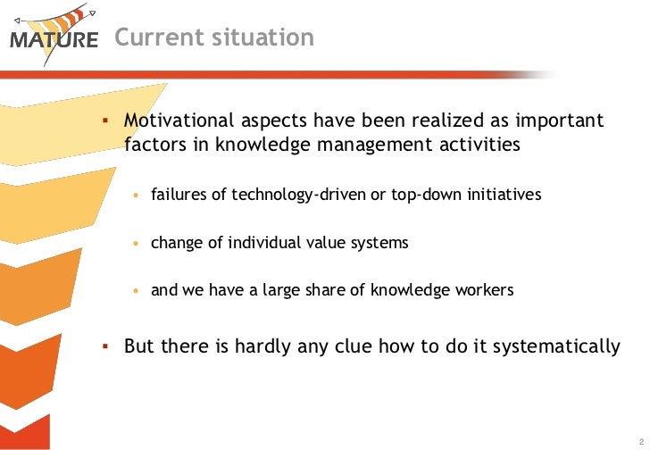 The MATURE Motivational Model Revisited Slide 2