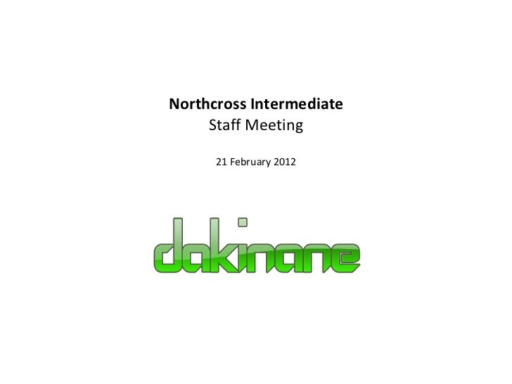 2012 northcross-staff-meeting