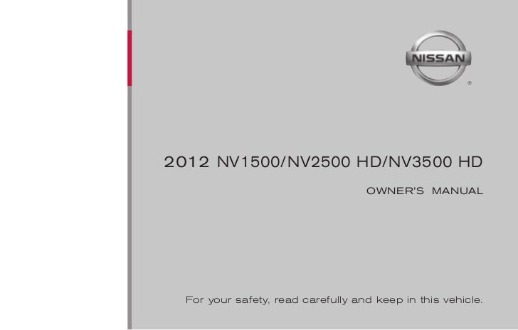 foreword read first—then drive safelywelcome to the growing family of new  nissan dealer for details concerning the particular ac- before driving your