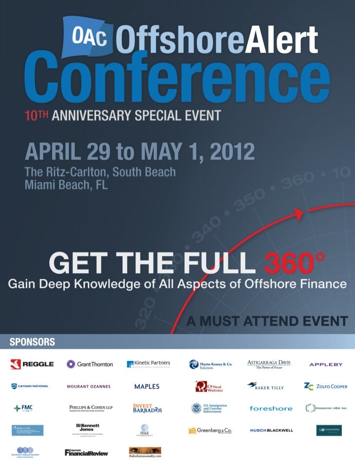 THE BEST OFFSHORE CONFERENCE, PERIOD                                                                          LIMITED OFFE...