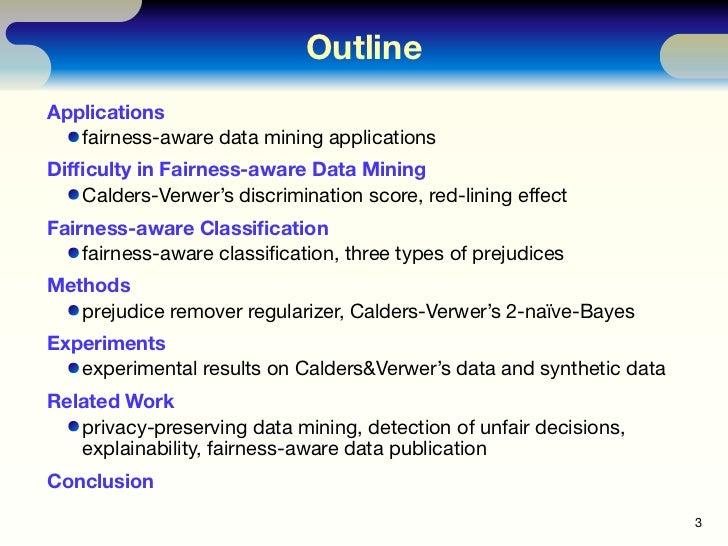 Fairness-aware Classifier with Prejudice Remover Regularizer Slide 3