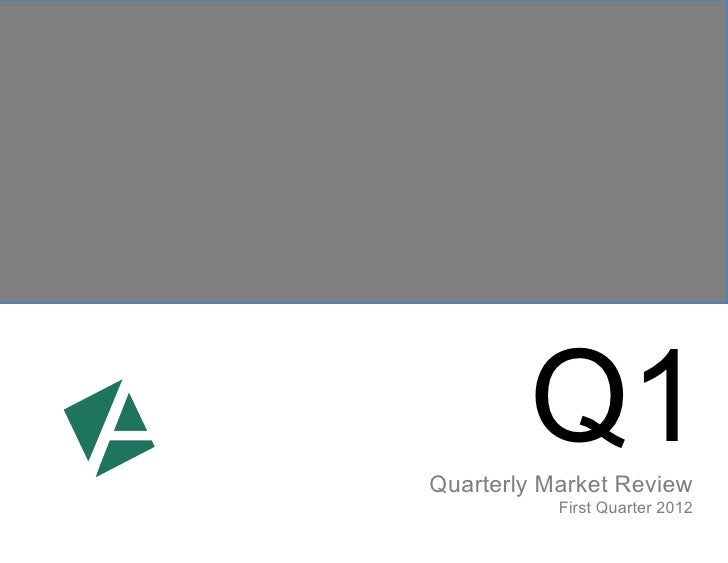 Q1Quarterly Market Review           First Quarter 2012