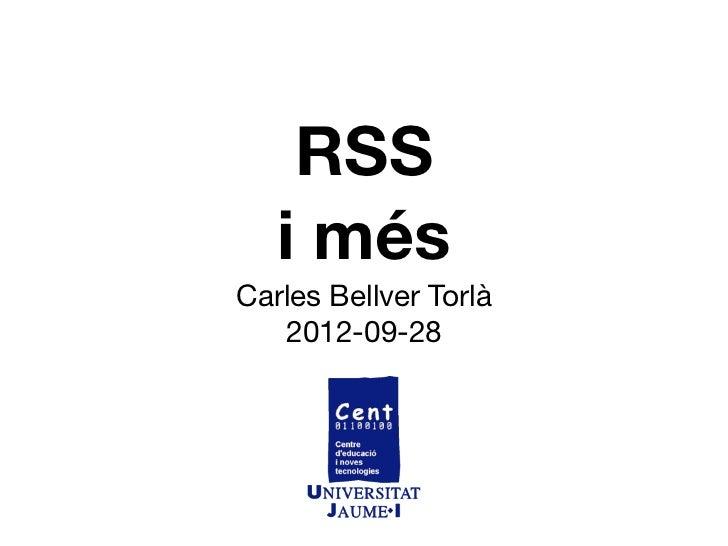 RSS   i mésCarles Bellver Torlà   2012-09-28
