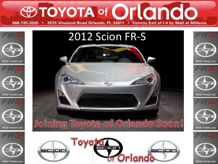 2012 Scion FR-S