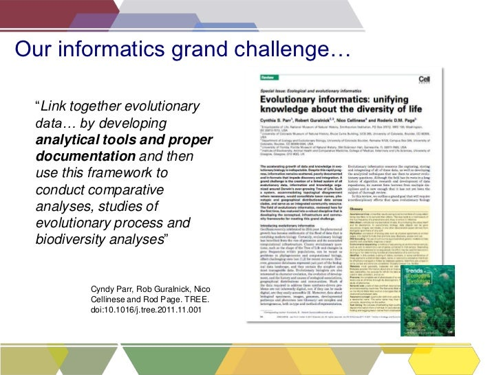 Making your data work for you: Scratchpads, publishing & the Biodiversity Data Journal Slide 2