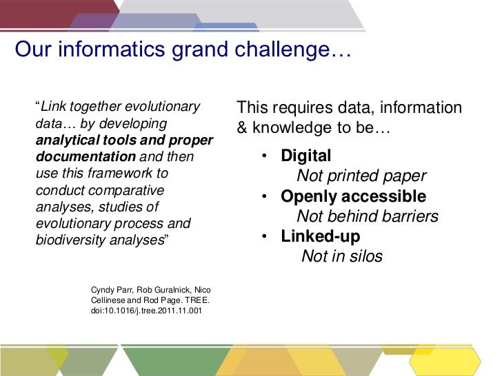 Making your data work for you: Scratchpads, publishing & the Biodiversity Data Journal Slide 3