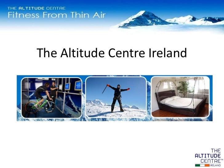 The Altitude Centre Ireland