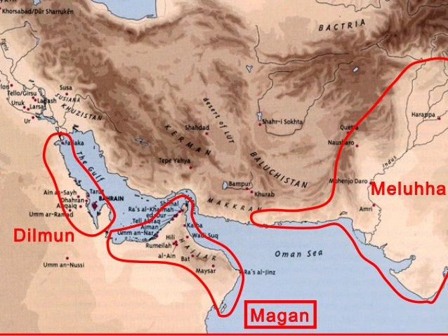 Image result for meluhha map