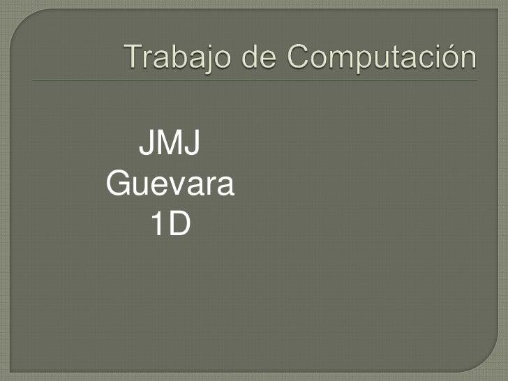 JMJGuevara  1D