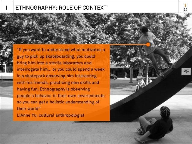 Design & Ethnography Slide 3