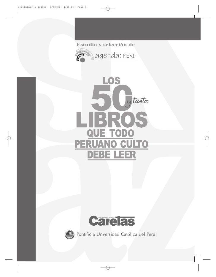 preliminar e índice   3/30/02   4:51 PM   Page 1                                                    ILUSTRACION PERUANA   ...