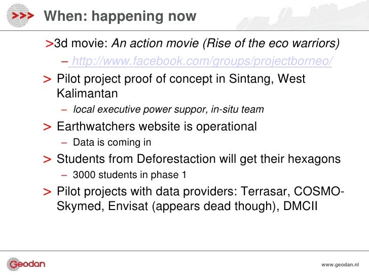 When: happening now>3d movie: An action movie (Rise of the eco warriors)     – http://www.facebook.com/groups/projectborne...