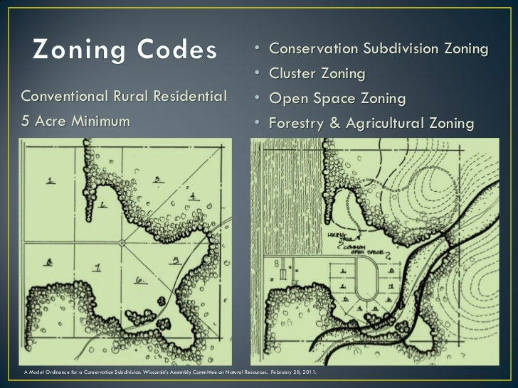 •      Conservation Subdivision Zoning                                                                                    ...