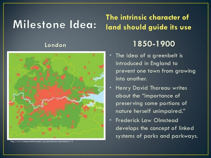 The intrinsic character of                                                               land should guide its use        ...