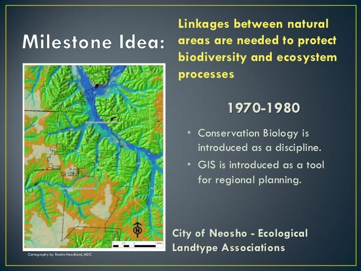 Linkages between natural                                      areas are needed to protect                                 ...