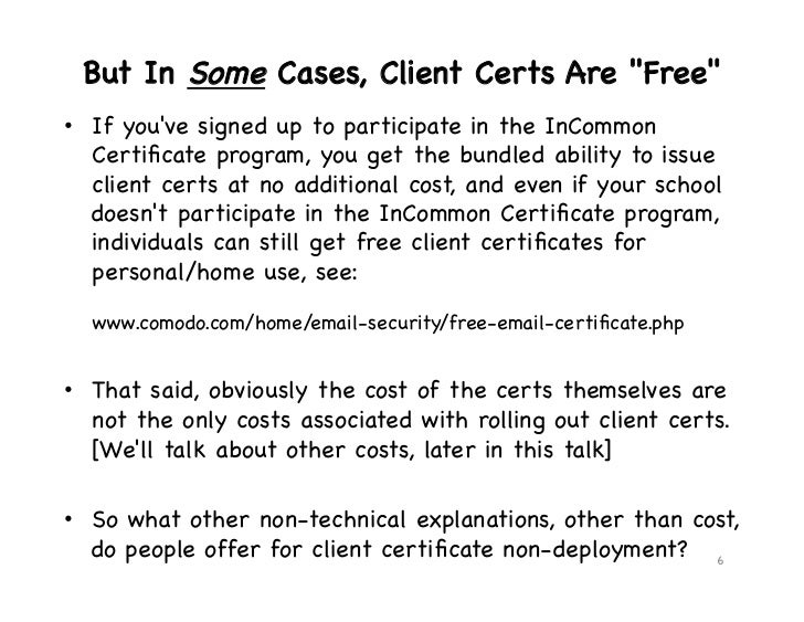 client cert deployment models and hardware tokens smart cards 6