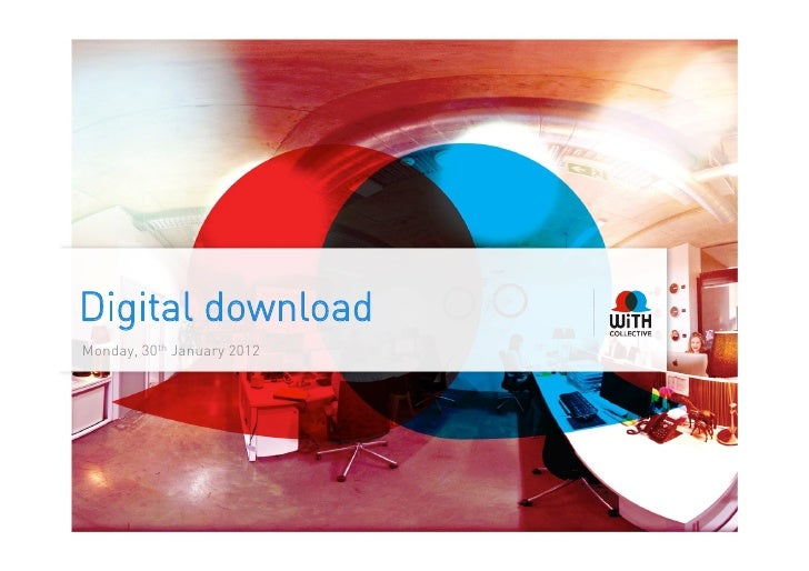 Digital downloadMonday, 30th January 2012