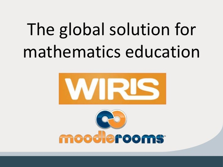 The global solution formathematics education