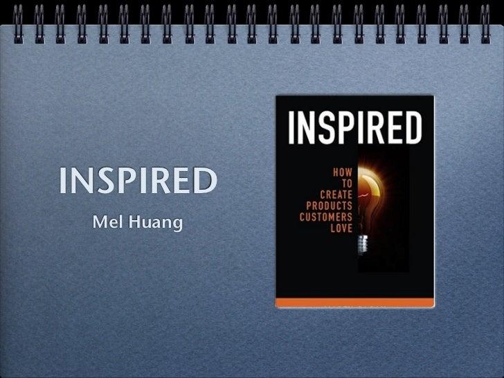 INSPIRED Mel Huang