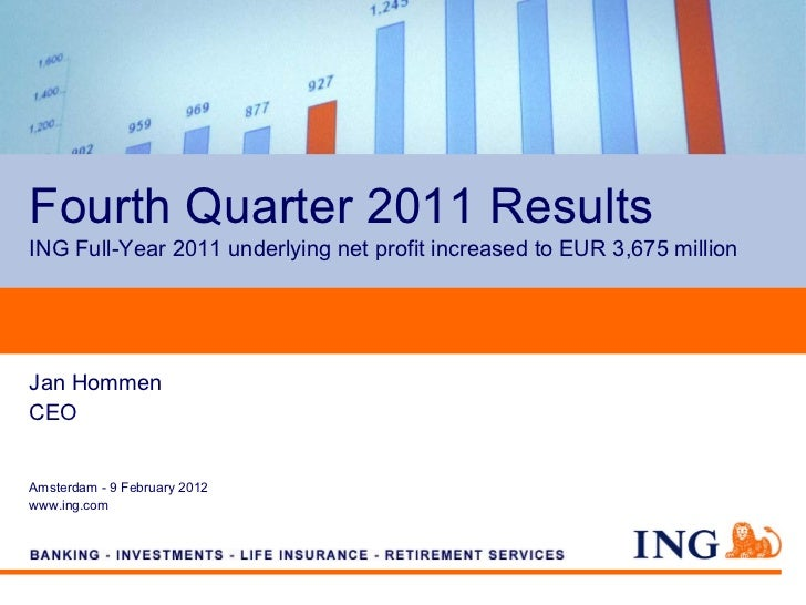 Fourth Quarter 2011 ResultsING Full-Year 2011 underlying net profit increased to EUR 3,675 millionJan HommenCEOAmsterdam -...